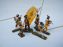 ENGLISH CIVIL WAR ROYALIST YELLOWCOAT S